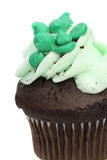 Green Cupcake Royalty Free Stock Photo