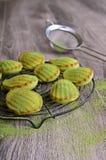 Green cupcake Royalty Free Stock Image