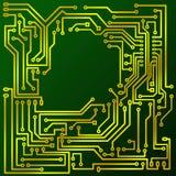 Green cuprextit board Stock Image