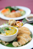 Green curry Royalty Free Stock Image