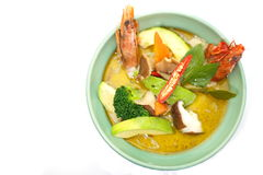 Green curry Stock Images