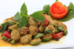 Green curry chicken Stock Images