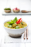 Green Curry Chicken Royalty Free Stock Photography