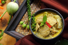 Green curry food. Royalty Free Stock Photo