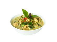 Green curry ingredient Stock Images