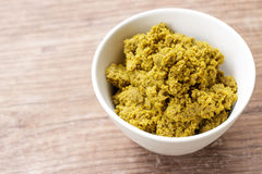 Green curry paste Stock Photography