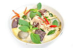 Green Curry Stock Image