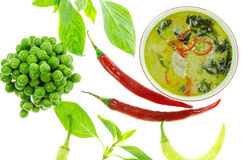 Green curry Royalty Free Stock Images