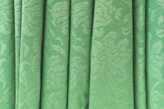 Green curtain Stock Photos