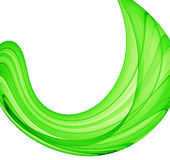Green curve Royalty Free Stock Photos