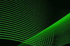 Green Curve Background Royalty Free Stock Photo