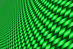 Green curve carbon fiber. On the black shadow. car accessories.  background and texture Stock Photos