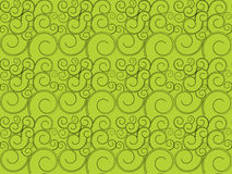 Green curve modern seamless patterns abstract background Royalty Free Stock Image
