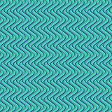 Green curved geometric pattern. Beautiful green curved geometric repeating pattern for modern surface designs, backgrounds, backdrops, wallpaper and card, poster stock illustration