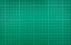 Green cutting mat Royalty Free Stock Photo
