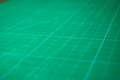Green_cutting_mat_closeup Image libre de droits