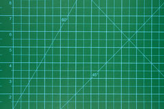 Green cutting mat scrapbook Royalty Free Stock Image