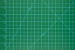 Green cutting mat scrapbook Royalty Free Stock Image