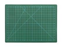 Green cutting mat Stock Photography