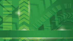 Green cyber energy vector background Stock Photography
