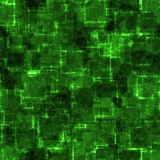 Green cyber grunge Stock Images