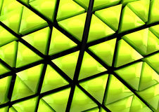 Green 3D background Royalty Free Stock Image