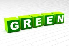 Green royalty free illustration