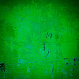 Green damaged plaster background Royalty Free Stock Images