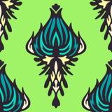 Green damask flower Royalty Free Stock Photo