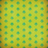 Green damask grunge wallpaper Royalty Free Stock Photo