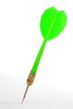 A green dart Royalty Free Stock Images
