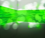 Green Data Transfer Abstract Background Royalty Free Stock Images