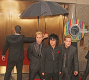 `Green Day` Arrive at 64th Annual Tony Awards in 2010. The American punk rock group `Green Day` arrive on the red carpet for the 64th Annual Tony Awards at Royalty Free Stock Image