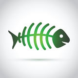 Green dead fish Royalty Free Stock Photos