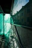 Green debris netting Royalty Free Stock Photography