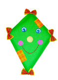 Green deco kite stock photography