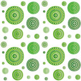 Green decorate pattern Royalty Free Stock Photo