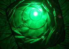 Green light decoration Royalty Free Stock Photography