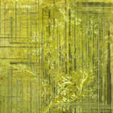 Green decorative background Royalty Free Stock Image