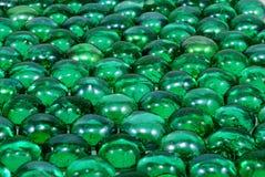 Green decorative glasses Stock Image
