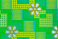 Green decorative paper Royalty Free Stock Photos