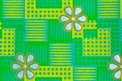 Green decorative paper Royalty Free Stock Photos