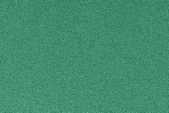 Green decorative polyester fabric texture background, close up Stock Photo
