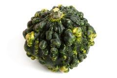 Green decorative pumpkin Royalty Free Stock Photo