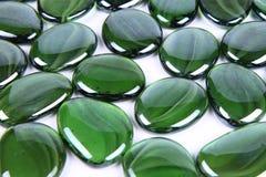 Green decorative stones Stock Photo