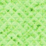 Green decorative watercolored background pattern royalty free illustration
