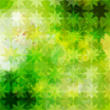 Green defocused background Stock Photography