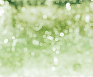 Green defocused background Stock Photos