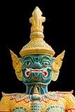 Green demon warrior in the Ramayana Stock Photography