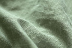 Green Denim background. Close-up Royalty Free Stock Photos